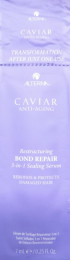 Caviar Restructuring Bond Repair 3-in-1 Sealing Serum Sachet