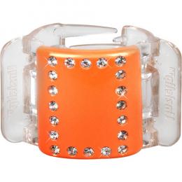 MIDI oranžový s krystalky