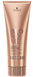 Blond Me Keratin Restore Bonding Shampoo All Blondes