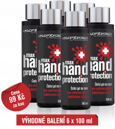 Max Hand Protection 100 ml, 6 kusů