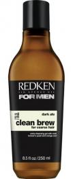 For Men Clean Brew Dark Ale Shampoo