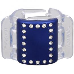 MIDI modrý s krystalky