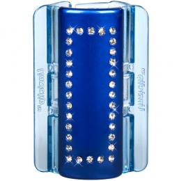 MAXI perleťově modrý s krystalky
