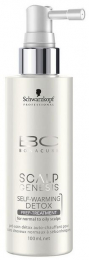 BC Bonacure Scalp Genesis Self-Warming Detox Prep-Treatment