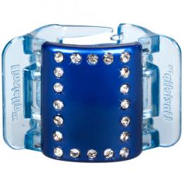 MIDI perleťově modrý s krystalky