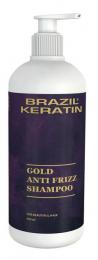 Anti Frizz Gold Shampoo 550 ml
