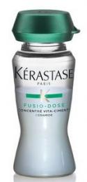Fusio Dose Résistance Concentré Vita-Ciment (10 x 12 ml)