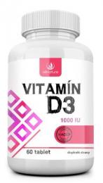Vitamín D3 - 1000 IU - 60 tbl.