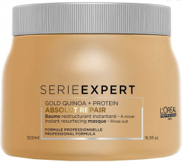 Série Expert Absolut Repair Gold Quinoa + Protein Masque MAXI