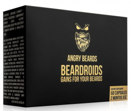 Beardroids - vitamíny na růst vousů