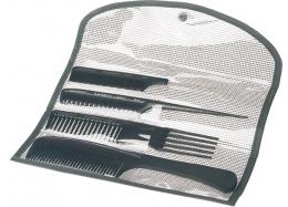 Carbon + Ion Comb Pouch ST
