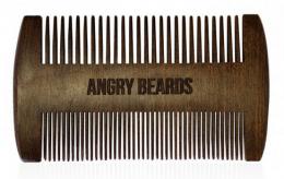 Dřevěný hřeben na vousy