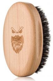 Dřevěný kartáč na vousy Gentler