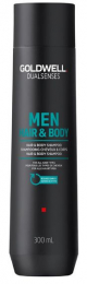 Dualsenses Men Hair & Body Shampoo