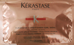 Discipline Cleansing Conditioner Curl Idéal Sachet