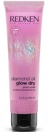 Diamond Oil Glow Dry Gloss Scrub